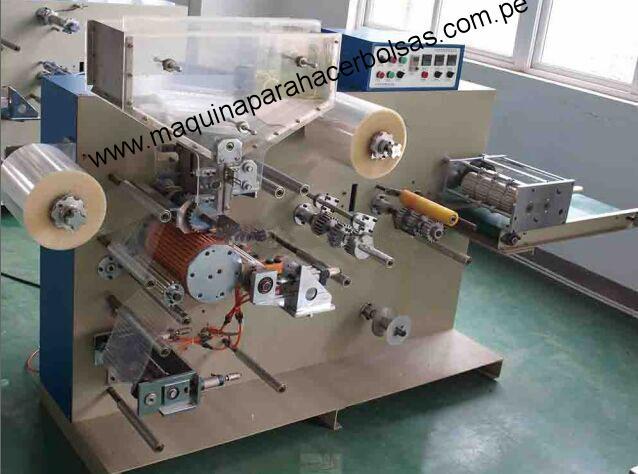 Máquina de Embalaje Cañitas de sellado de 4 lados