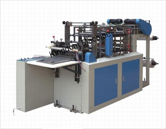 Máquina para fabricar guantes de plástico desechable
